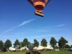 Heerlijke luchtballon vaart opgestegen in Joure op vrijdag 17 augustus 2018