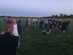 Majestueuze luchtballon vaart gestart in Joure op vrijdag 17 augustus 2018