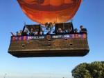 Prettige ballonvaart boven de regio Tilburg op vrijdag 17 augustus 2018