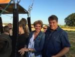 Geweldige heteluchtballonvaart gestart op opstijglocatie Tilburg op vrijdag 17 augustus 2018
