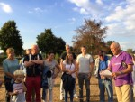 Mooie heteluchtballonvaart in de regio Uden op vrijdag 17 augustus 2018