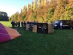 Geweldige ballonvaart opgestegen op opstijglocatie Beesd op vrijdag 19 oktober 2018