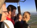 Buitengewone ballonvlucht gestart op opstijglocatie Beesd op vrijdag 19 oktober 2018