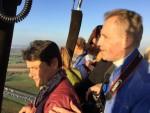Indrukwekkende heteluchtballonvaart in Beesd op vrijdag 19 oktober 2018