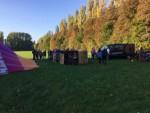 Betoverende ballon vaart in de regio Beesd op vrijdag 19 oktober 2018