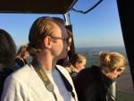 Mooie ballon vlucht over de regio Beesd op vrijdag 19 oktober 2018