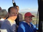 Overweldigende luchtballonvaart over de regio Beesd op vrijdag 19 oktober 2018
