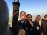 Adembenemende ballonvaart boven de regio Beesd op vrijdag 19 oktober 2018