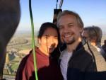 Heerlijke ballonvaart opgestegen in Beesd op vrijdag 19 oktober 2018