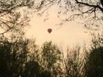 Sublieme ballonvaart opgestegen in Arnhem vrijdag 20 april 2018
