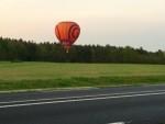 Geweldige luchtballon vaart in de omgeving van Arnhem vrijdag 20 april 2018