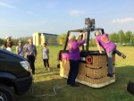Weergaloze ballonvlucht opgestegen op opstijglocatie Arnhem vrijdag 20 april 2018