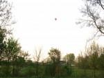 Prachtige ballonvaart vanaf opstijglocatie Arnhem vrijdag 20 april 2018