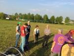 Buitengewone luchtballonvaart in de omgeving van Arnhem vrijdag 20 april 2018