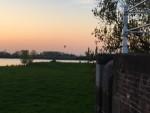 Majestueuze ballon vlucht gestart in Beesd vrijdag 20 april 2018