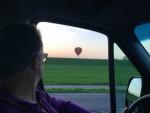 Spectaculaire luchtballonvaart over de regio Beesd vrijdag 20 april 2018