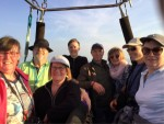 Magische ballonvlucht over de regio Tilburg vrijdag 20 april 2018