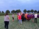 Waanzinnige heteluchtballonvaart in de omgeving van Horst vrijdag 20 juli 2018