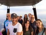 Grandioze luchtballon vaart startlocatie Horst vrijdag 20 juli 2018