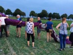 Majestueuze ballonvaart gestart in Horst vrijdag 20 juli 2018