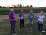 Prettige ballonvlucht regio Uden vrijdag 20 juli 2018