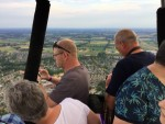 Adembenemende ballonvlucht in Uden vrijdag 20 juli 2018