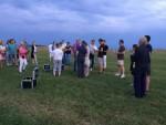 Fantastische heteluchtballonvaart opgestegen in Veenendaal vrijdag 20 juli 2018