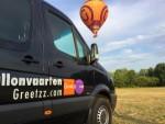 Exceptionele luchtballon vaart in de buurt van Veenendaal vrijdag 20 juli 2018