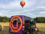 Ongeëvenaarde luchtballon vaart opgestegen op opstijglocatie Veenendaal vrijdag 20 juli 2018