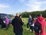 Fabuleuze luchtballon vaart gestart op opstijglocatie Beesd vrijdag 27 april 2018