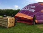 Majestueuze luchtballonvaart regio Beesd vrijdag 27 april 2018