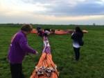Exceptionele ballonvlucht in de buurt van Beesd vrijdag 27 april 2018