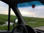 Uitzonderlijke ballon vaart gestart in Beesd vrijdag 27 april 2018