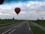 Comfortabele ballon vaart in de omgeving Beesd vrijdag 27 april 2018