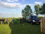 Betoverende ballon vaart over de regio 's-hertogenbosch vrijdag 27 april 2018