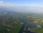 Buitengewone luchtballon vaart in 's-hertogenbosch vrijdag 27 april 2018
