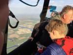 Feestelijke luchtballonvaart opgestegen in 's-hertogenbosch vrijdag 27 april 2018