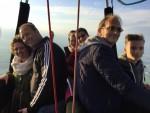 Prettige ballonvlucht gestart op opstijglocatie 's-hertogenbosch vrijdag 27 april 2018