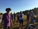 Ultieme ballon vaart boven de regio Hendrik-ido-ambacht vrijdag  3 augustus 2018