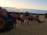Sublieme ballon vlucht startlocatie Hendrik-ido-ambacht vrijdag  3 augustus 2018