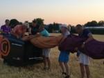 Hoogstaande heteluchtballonvaart in de buurt van Hendrik-ido-ambacht vrijdag  3 augustus 2018