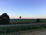 Indrukwekkende ballon vaart over de regio Akkrum vrijdag  3 augustus 2018