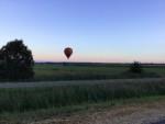 Prachtige ballonvlucht startlocatie Akkrum vrijdag  3 augustus 2018