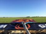 Uitmuntende ballonvaart opgestegen op startlocatie Akkrum vrijdag  3 augustus 2018