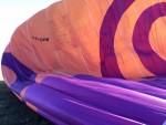 Schitterende ballonvlucht in de buurt van Akkrum vrijdag 3 augustus 2018