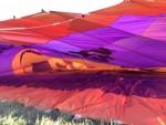 Uitstekende luchtballon vaart opgestegen op startlocatie Akkrum vrijdag  3 augustus 2018