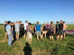 Hoogstaande ballonvaart in de regio Akkrum vrijdag 3 augustus 2018