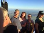 Indrukwekkende ballonvlucht opgestegen op startlocatie Akkrum vrijdag  3 augustus 2018
