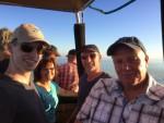 Betoverende luchtballonvaart omgeving Akkrum vrijdag 3 augustus 2018