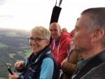 Fantastische ballonvaart in de omgeving Ommen op vrijdag 31 augustus 2018
